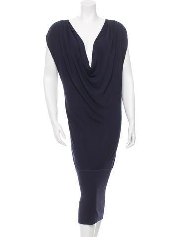 Diane von Furstenberg Silk Midi Dress None