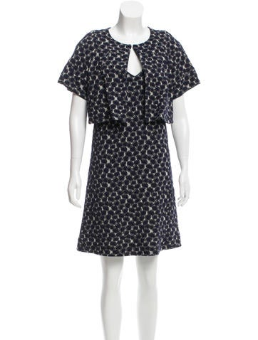 Diane von Furstenberg Embroidered Dress Set None