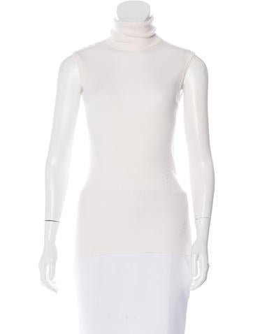 Diane von Furstenberg Sutton Wool & Silk-Blend Top None