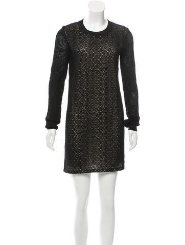 Diane von Furstenberg Linot Bis Mini Dress None