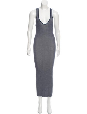 Diane von Furstenberg Bodycon Maxi Dress None