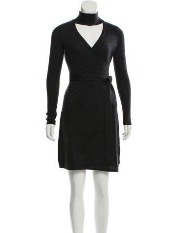Diane von Furstenberg Janeva Wool Dress w/ Tags None