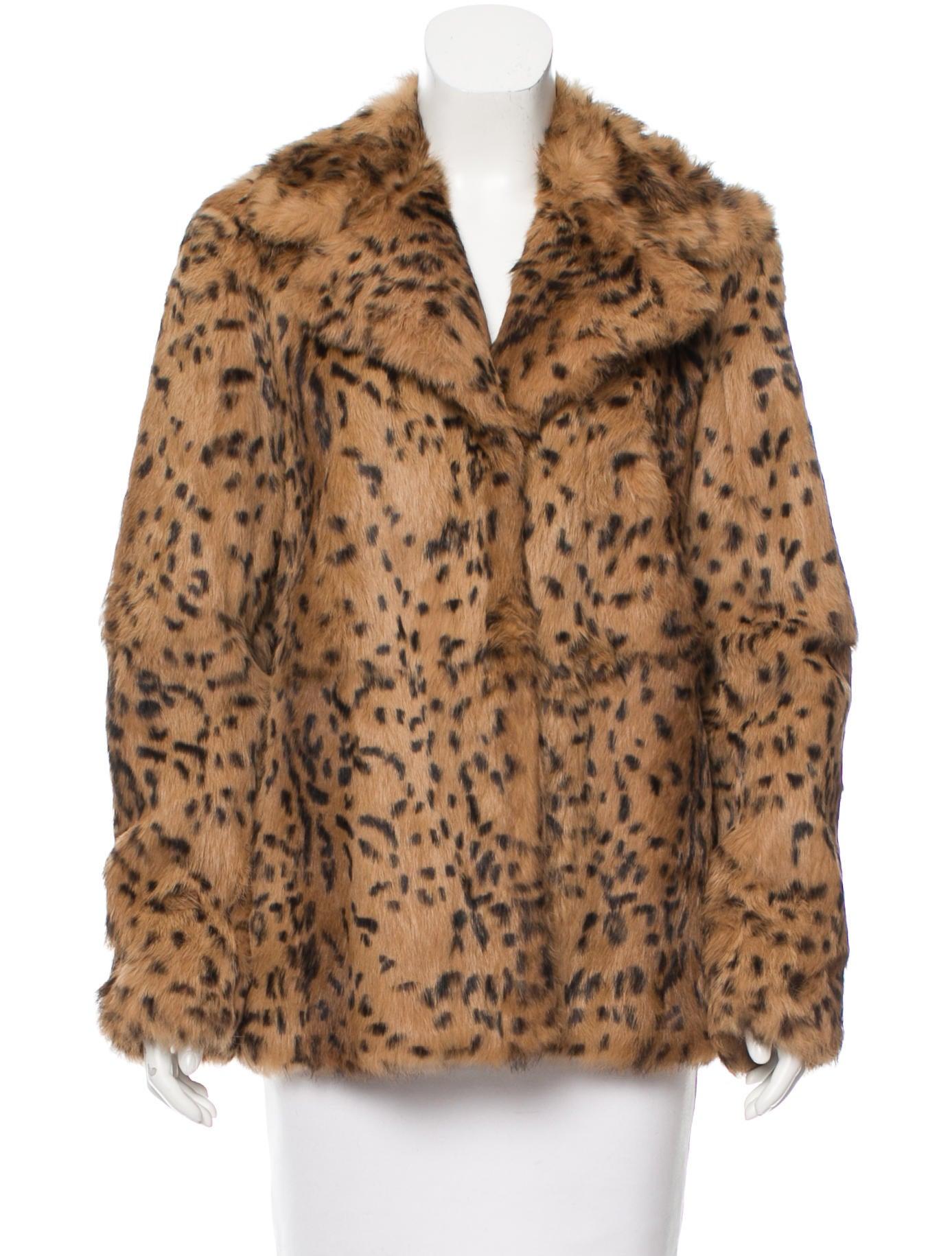 4c7eb61239e1 Diane Von Furstenberg Dresses Scarf. Women Ping Diane Von Furstenberg Talia Rabbit  Fur Coat Ggkdwl6uq