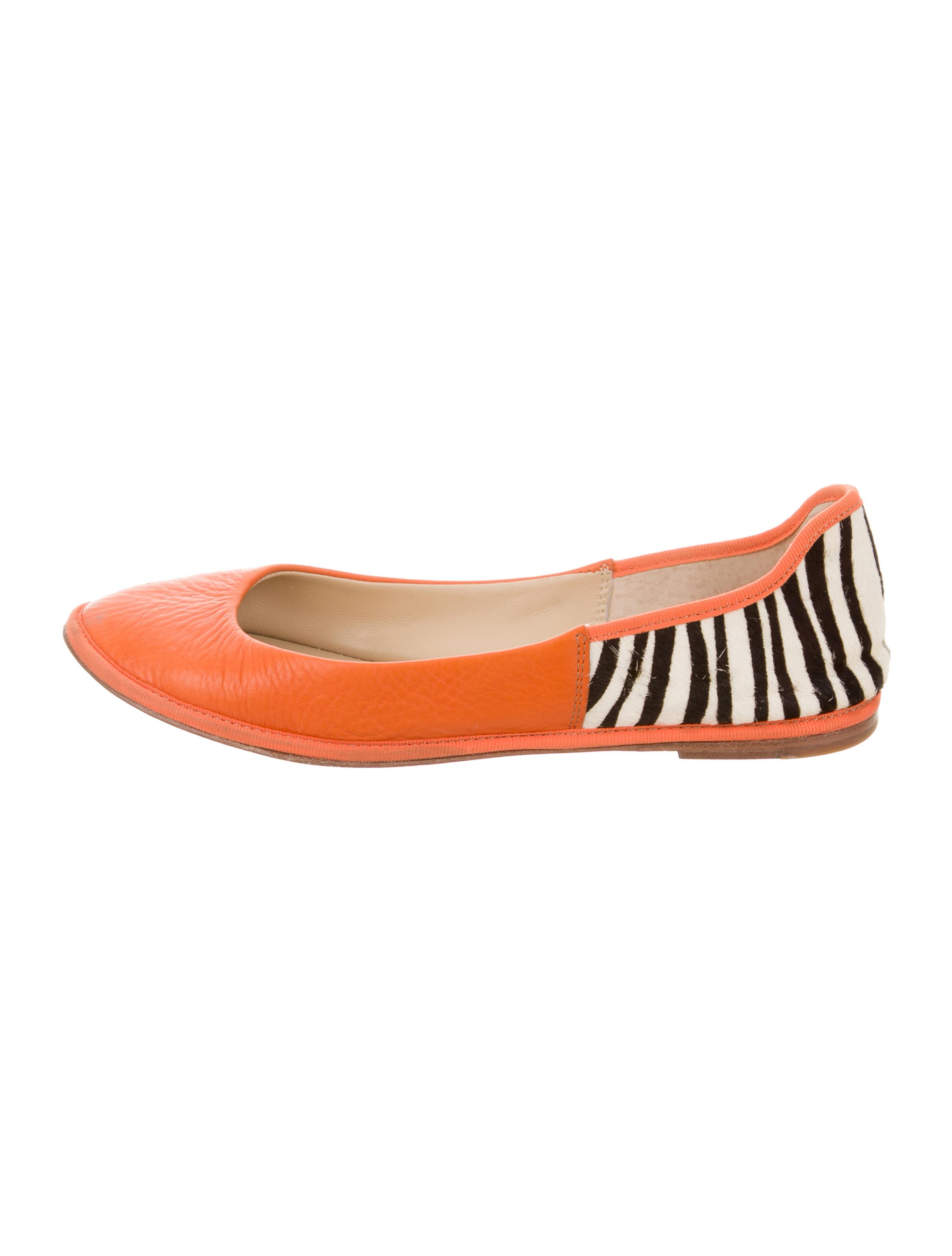 Diane von Furstenberg Ponyhair Round-Toe Flats outlet great deals shopping online original clearance low shipping cheap best place 7N8TvXF