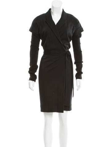 Diane von Furstenberg Wool Banker Dress None