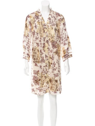 Diane von Furstenberg Layla Brocade Dress
