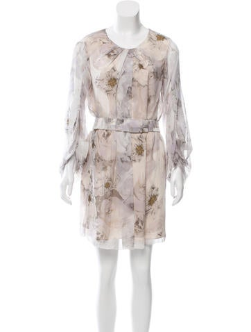 Diane von Furstenberg Silk Belted Dress