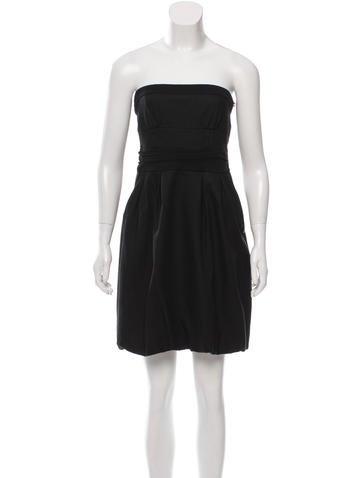 Diane von Furstenberg Strapless Cocktail Dress