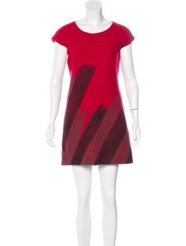 Diane von Furstenberg Wool Shift Dress