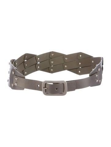Diane von Furstenberg Leather Waist Belt