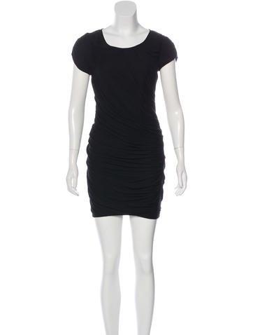 Diane von Furstenberg Ruched Mini Dress None