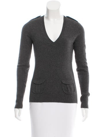 Diane von Furstenberg Wool & Cashmere Sweater None