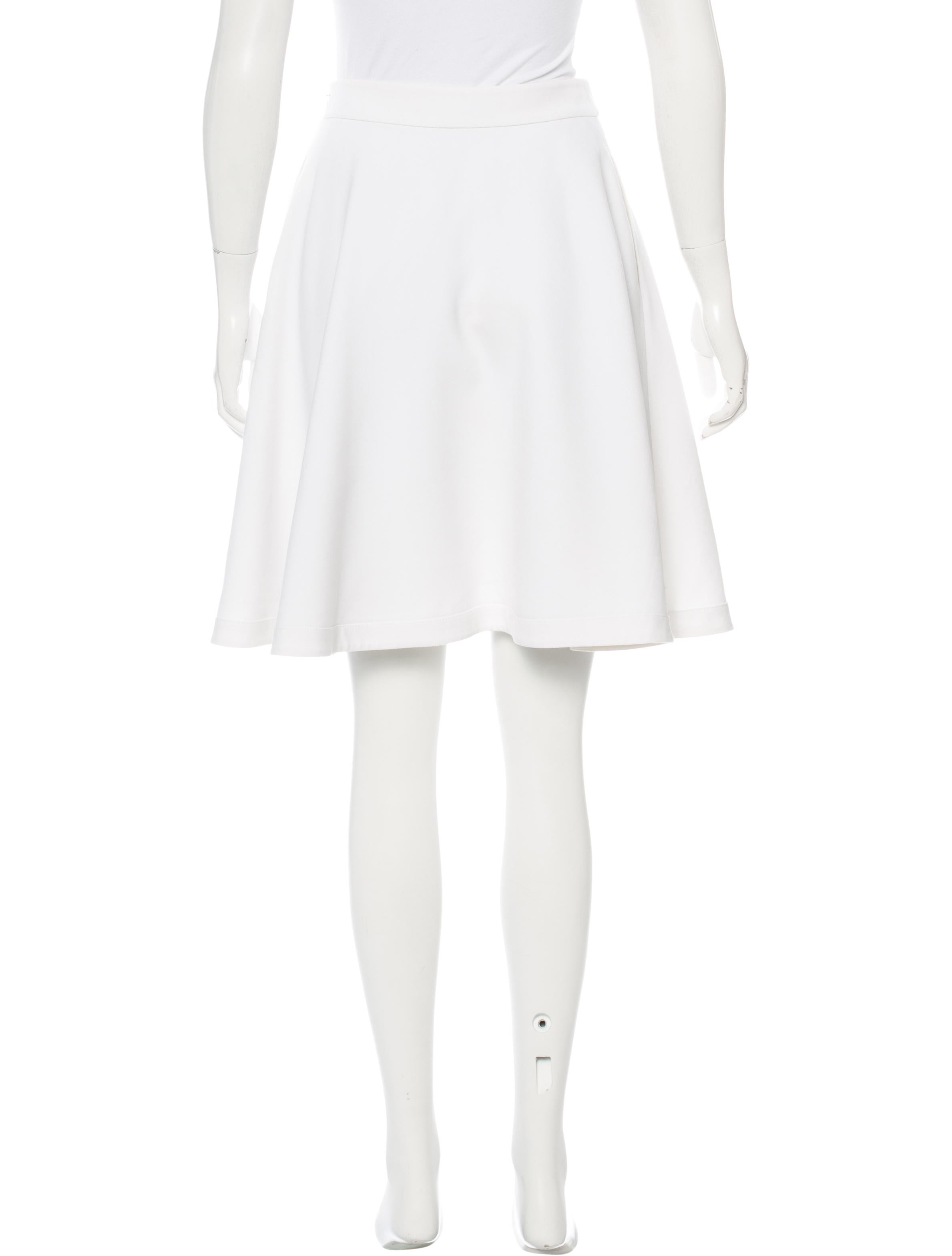 Diane von Furstenberg Knit Circle Skirt - Skirts - WDI90124 The RealReal