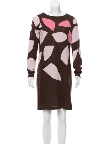 Diane von Furstenberg Wool Kivel Bis Dress None