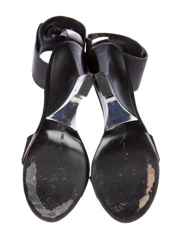 Leather Multistrap Sandals