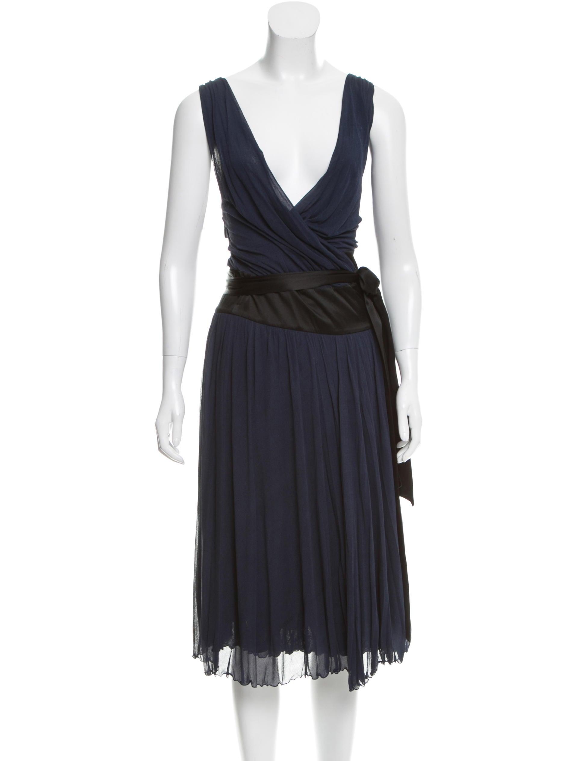 Diane von furstenberg silk lorelei dress clothing for Diane von furstenberg clothing