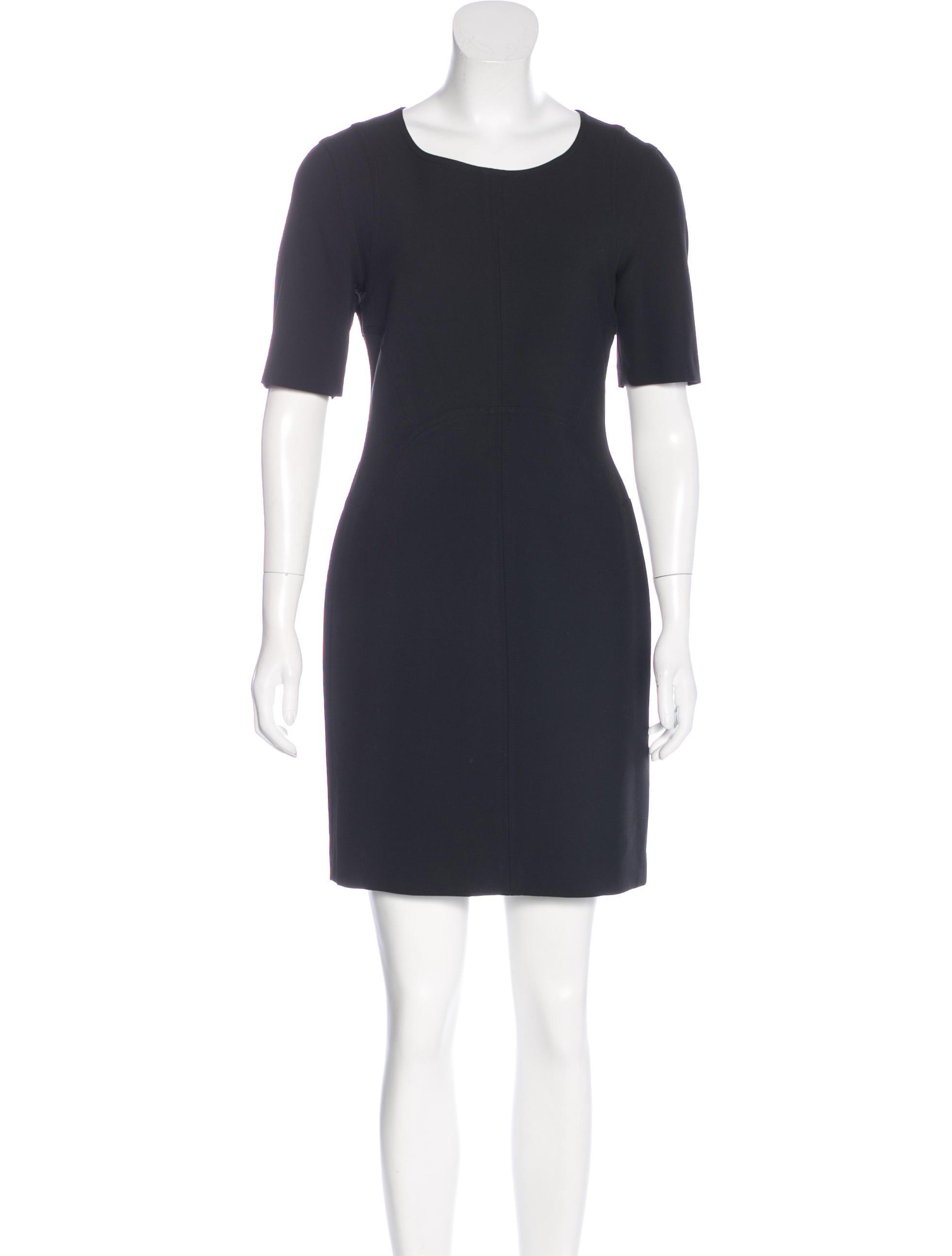 diane von furstenberg short sleeve sheath dress dresses
