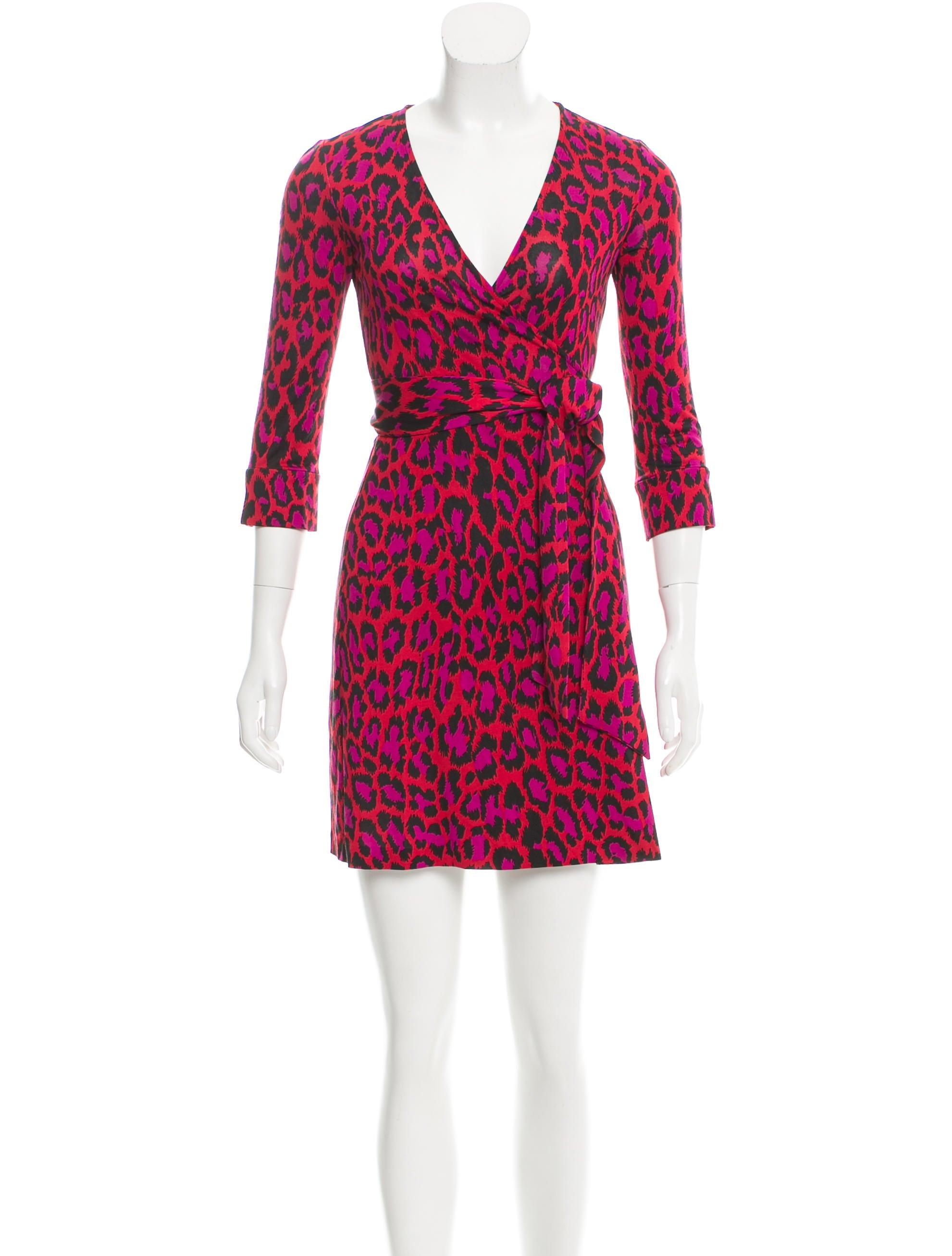 Diane von furstenberg silk julian dress clothing for Diane von furstenberg clothing