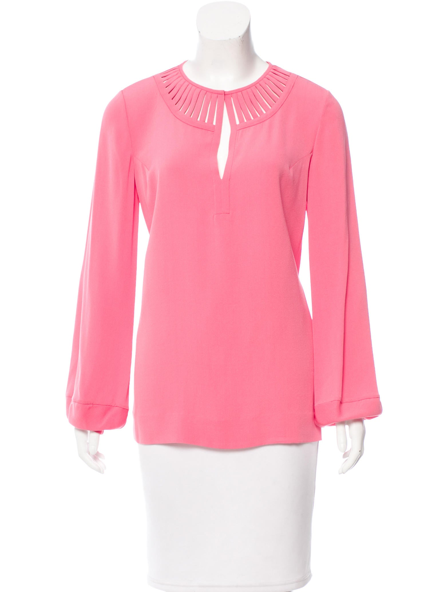 Diane Von Furstenberg Damian Silk Top Clothing