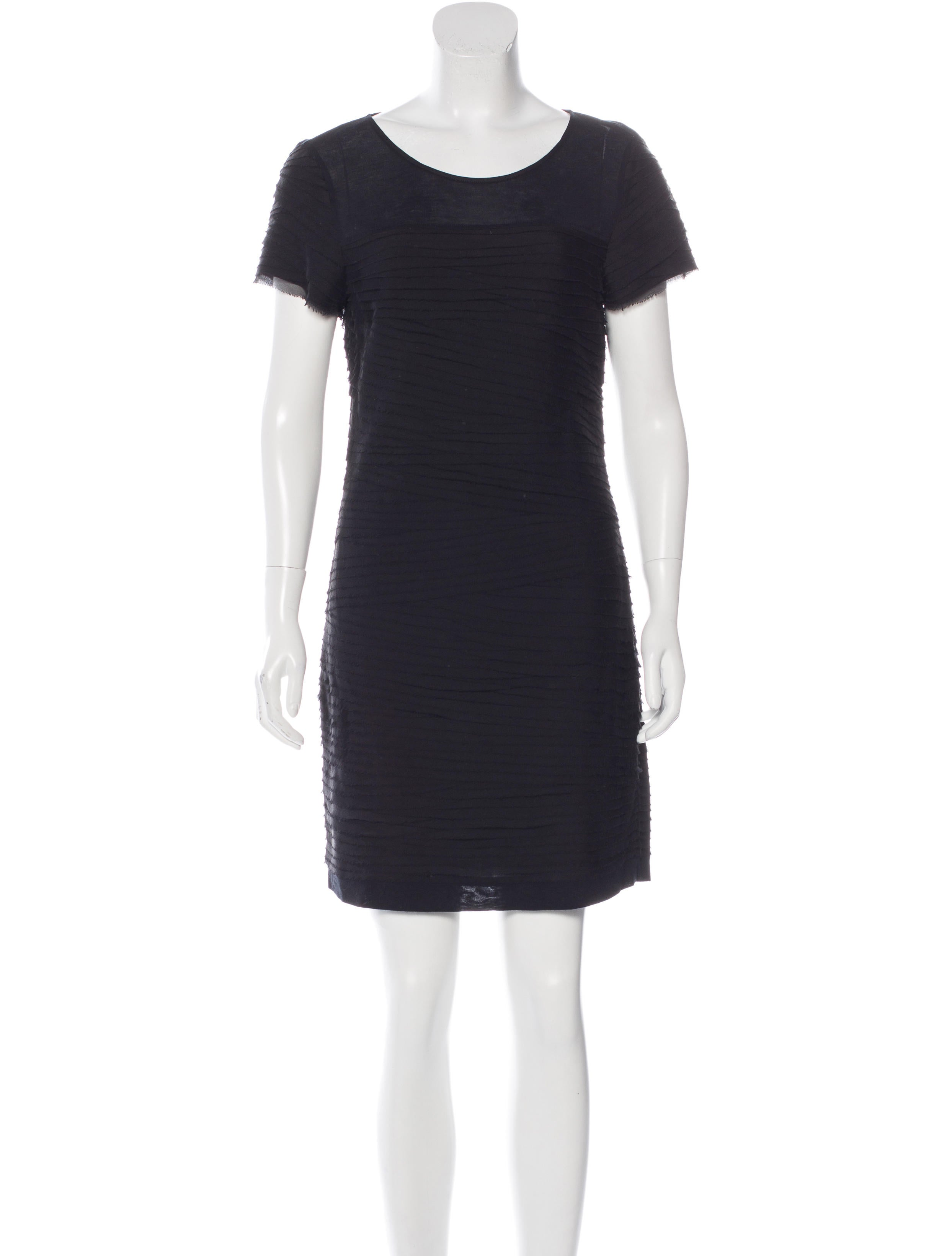 Diane Von Furstenberg Silk Blend Shirt Dress Clothing