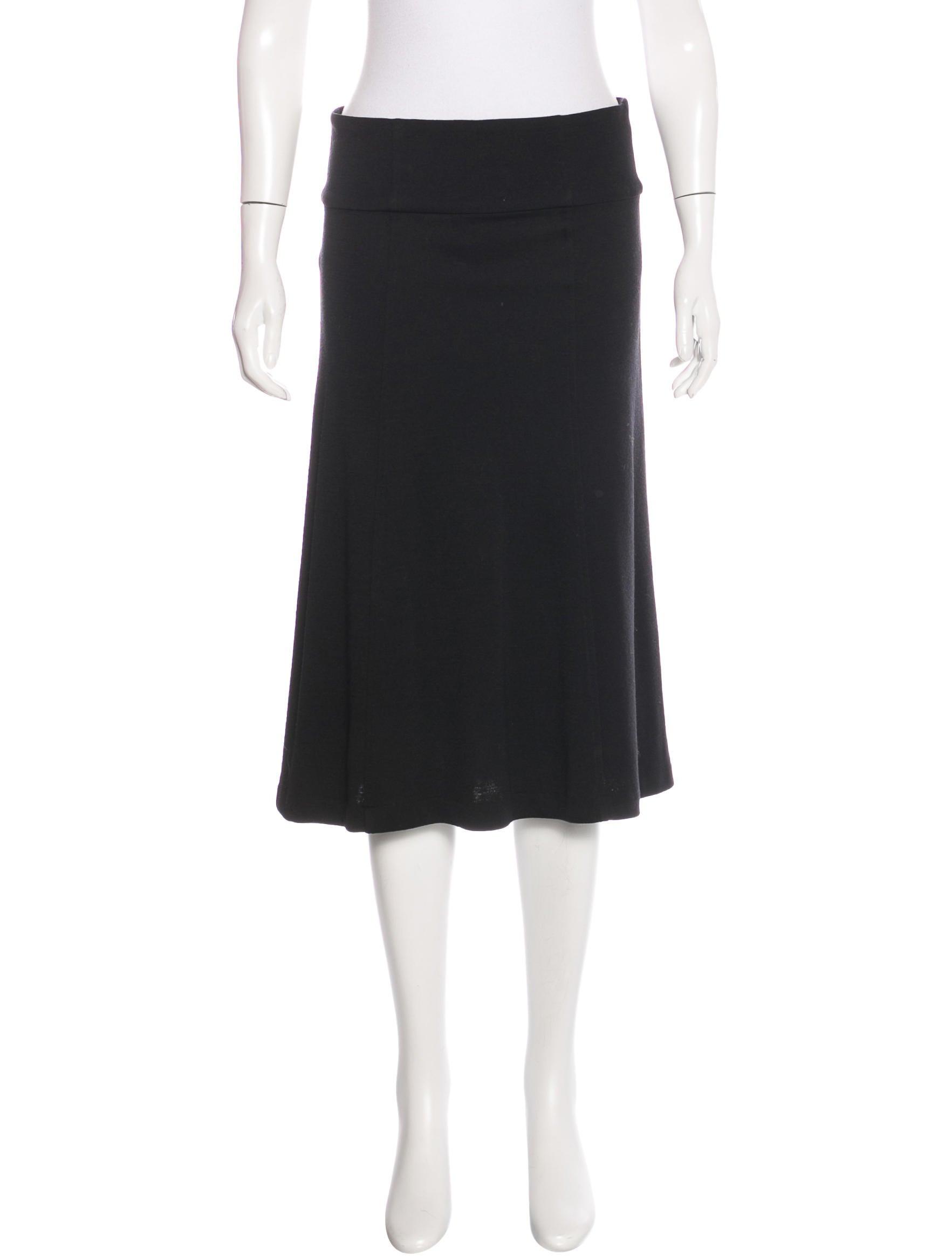 diane furstenberg wool midi skirt clothing