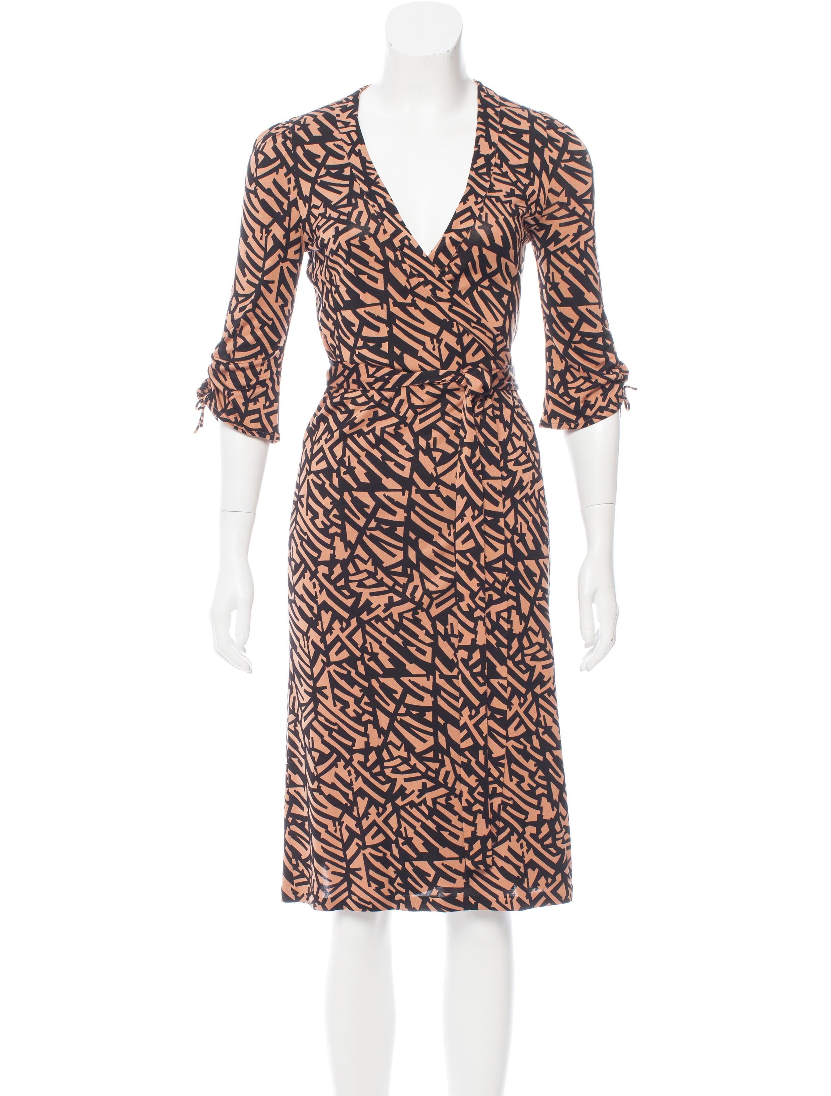 Diane von furstenberg tigerlily silk dress clothing for Diane von furstenberg shirt