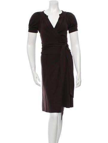 Diane von Furstenberg Lauren Wrap Dress None