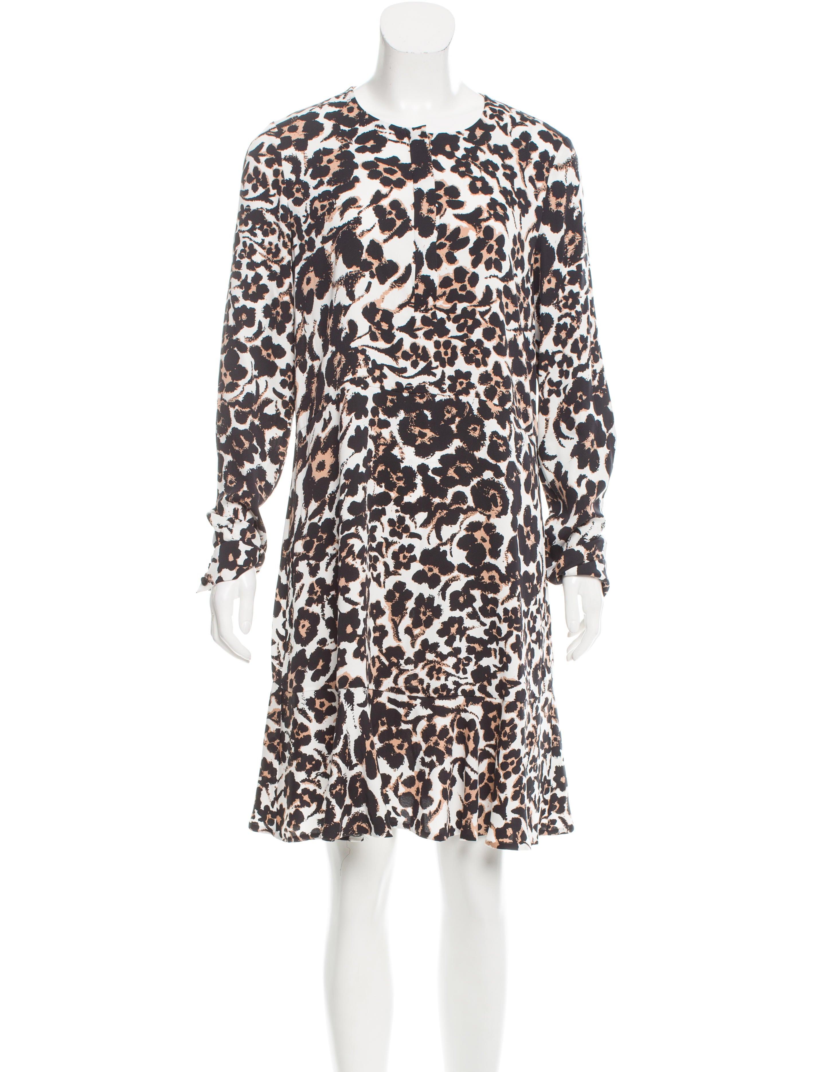 Diane von furstenberg silk leanne dress clothing for Diane von furstenberg shirt