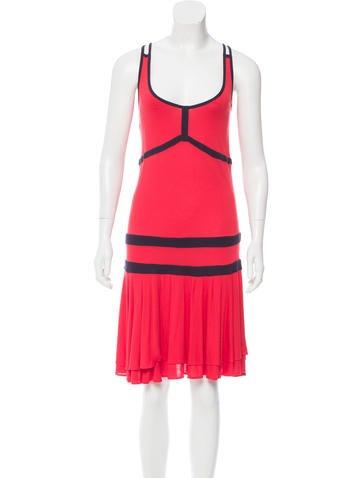 Diane von Furstenberg Sleeveless Midi Dress None