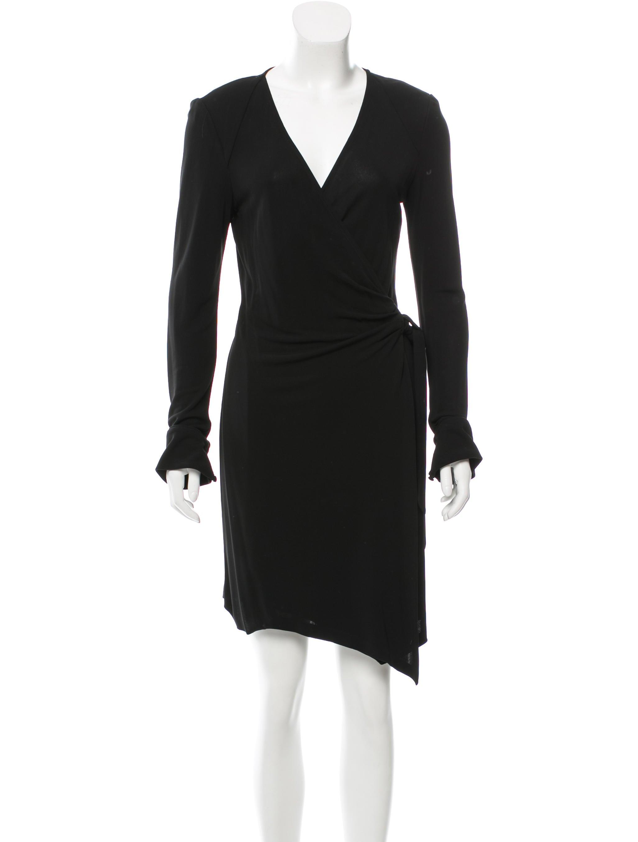 Diane von furstenberg long sleeve wrap dress clothing for Diane von furstenberg clothing