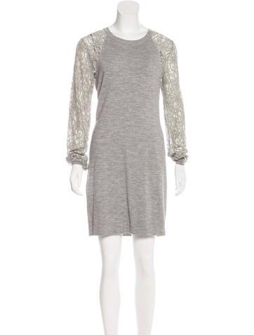 Diane von Furstenberg Isla Wool Dress None