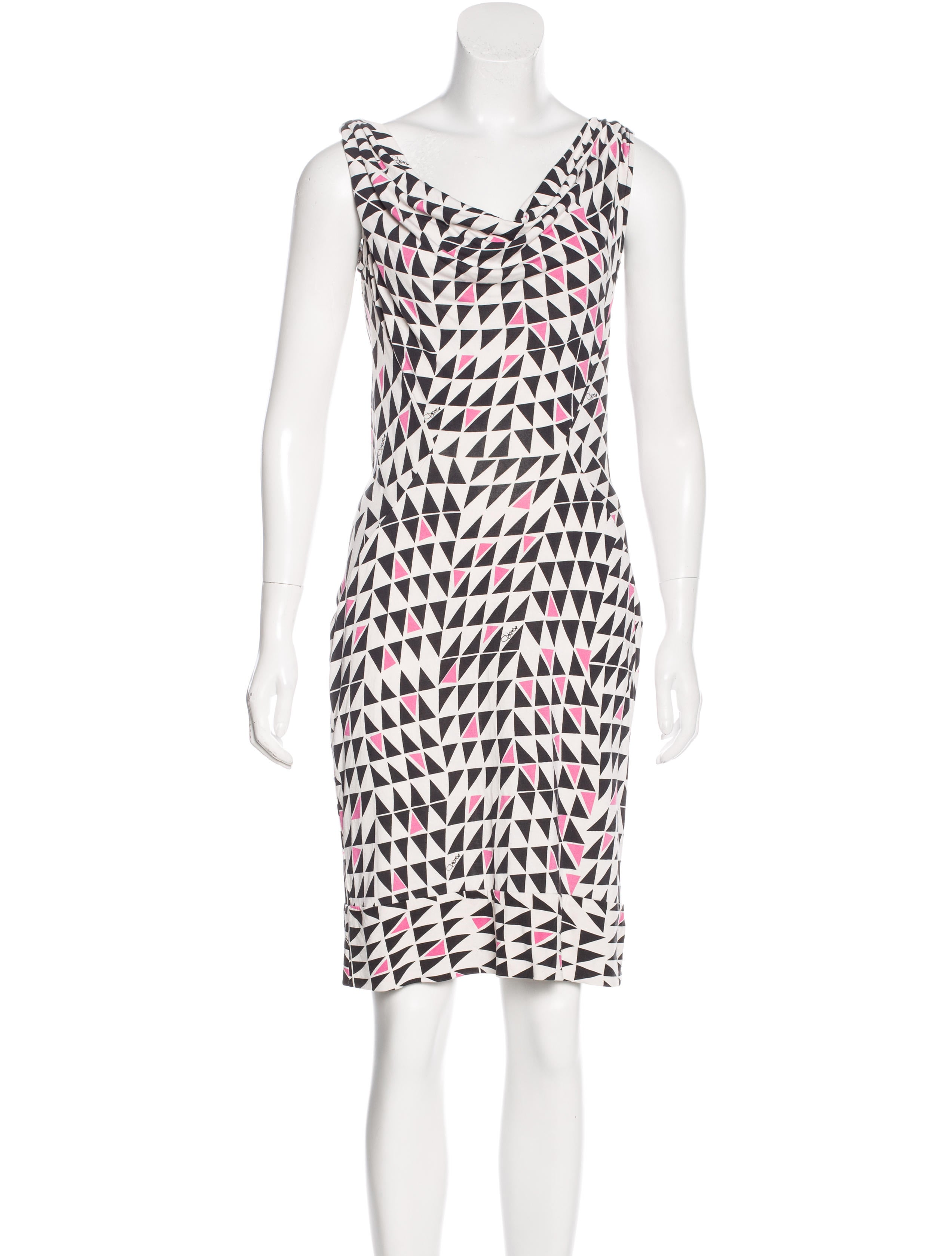 Diane von furstenberg silk printed dress clothing for Diane von furstenberg clothes