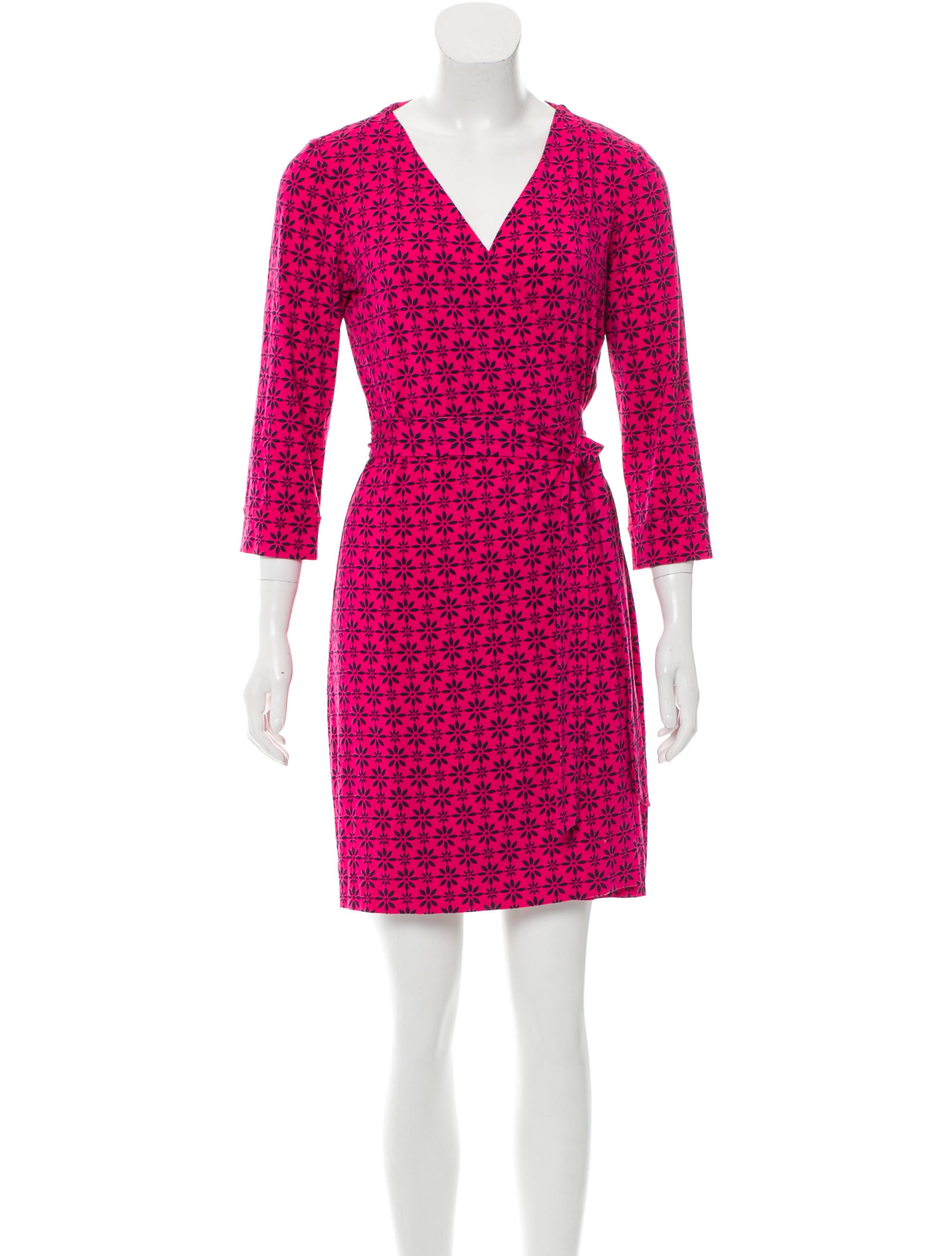 Diane Von Furstenberg Julian Wrap Dress Clothing