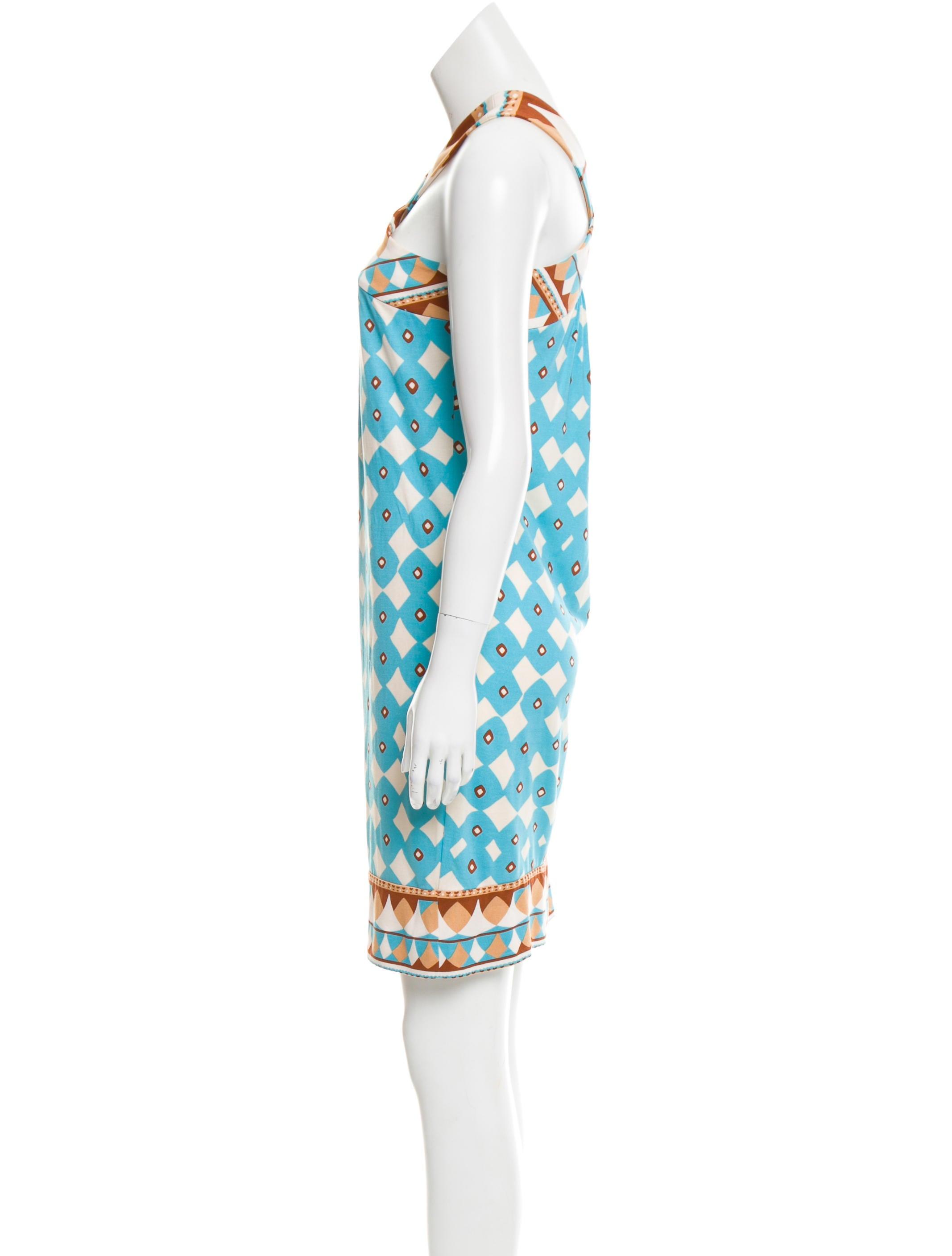 diane von furstenberg banner silk dress clothing