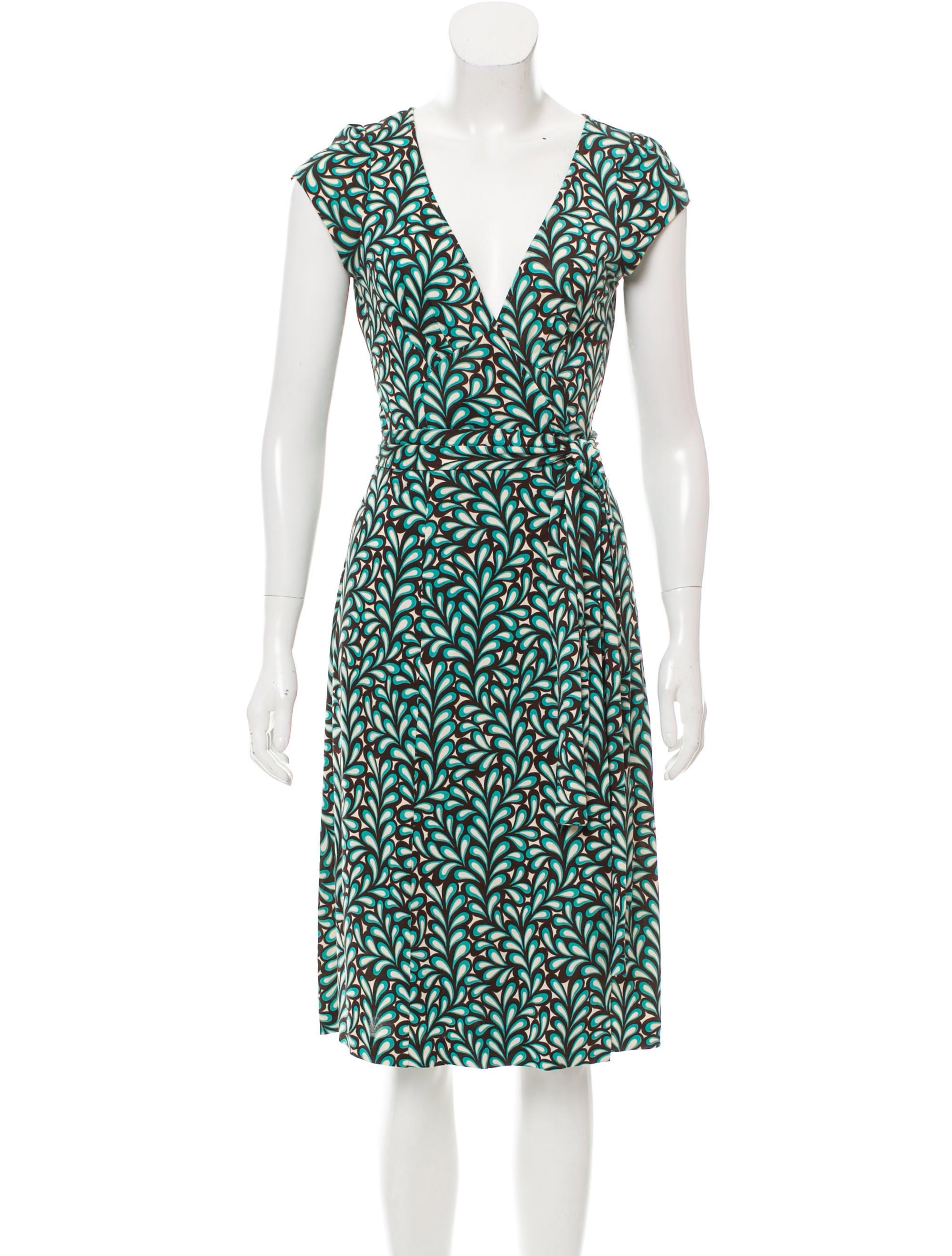 Diane von furstenberg kye silk dress clothing wdi96702 for Diane von furstenberg clothing