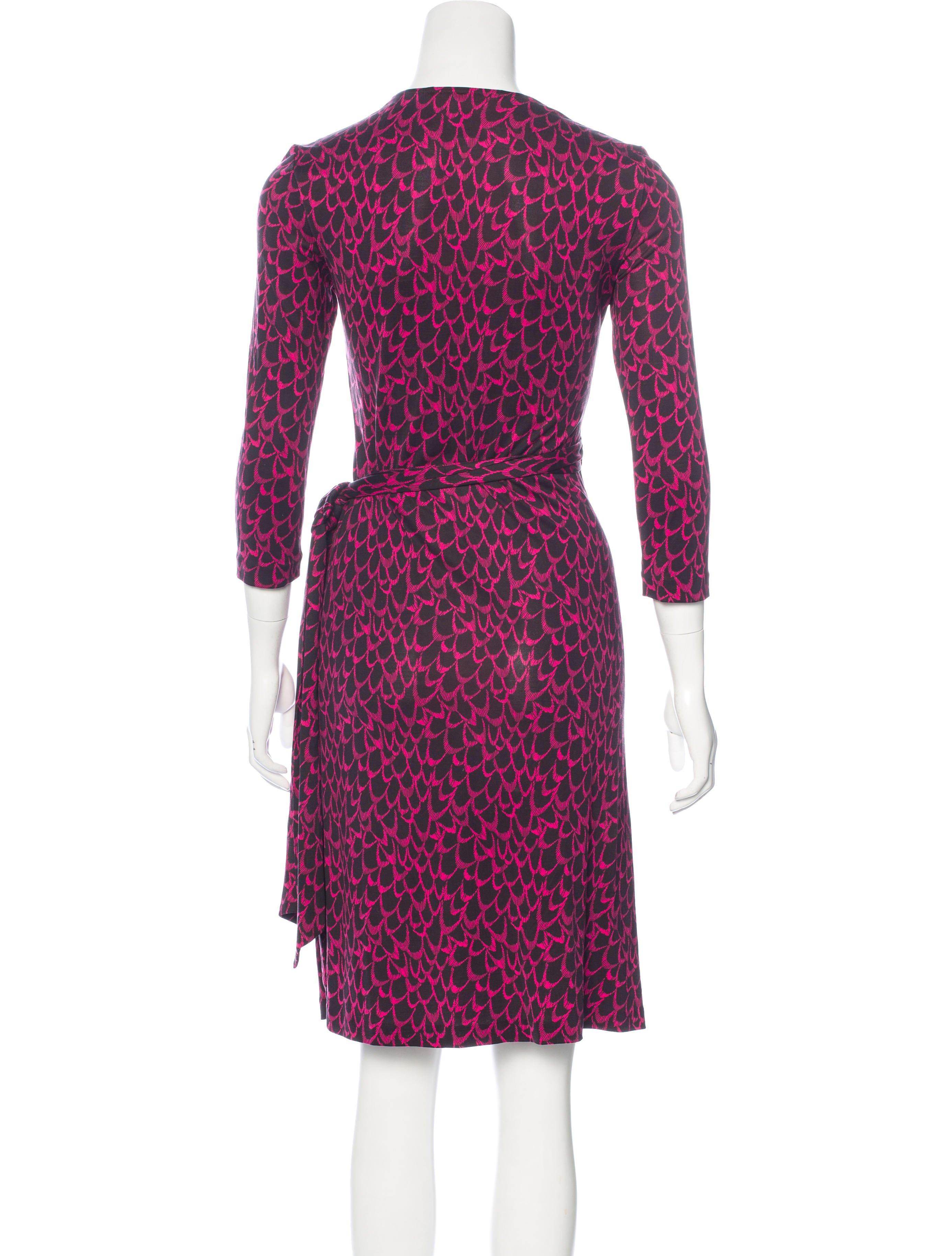 Diane von furstenberg diana silk dress clothing for Diane von furstenberg clothing