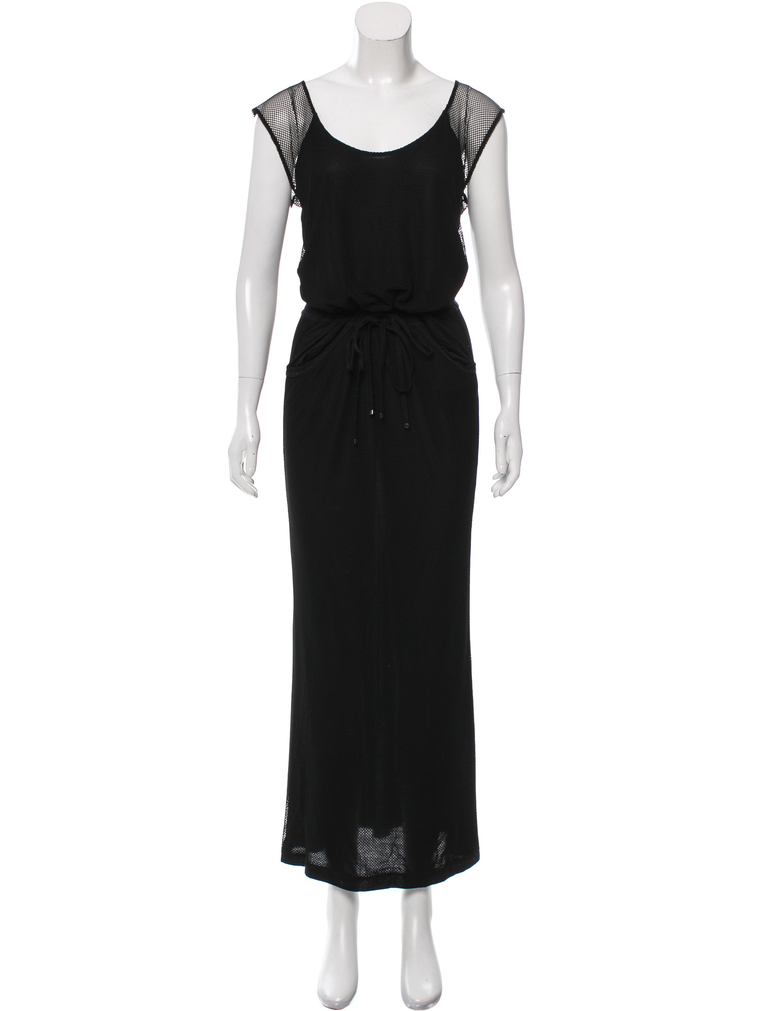 Diane von furstenberg mesh maxi dress clothing for Diane von furstenberg clothing