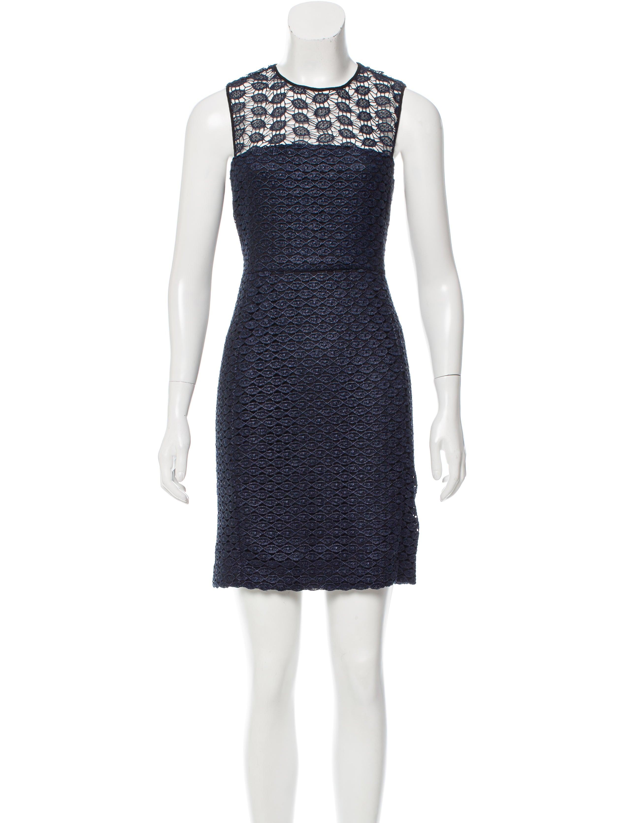 Diane von furstenberg kinchu lace dress clothing for Diane von furstenberg clothing