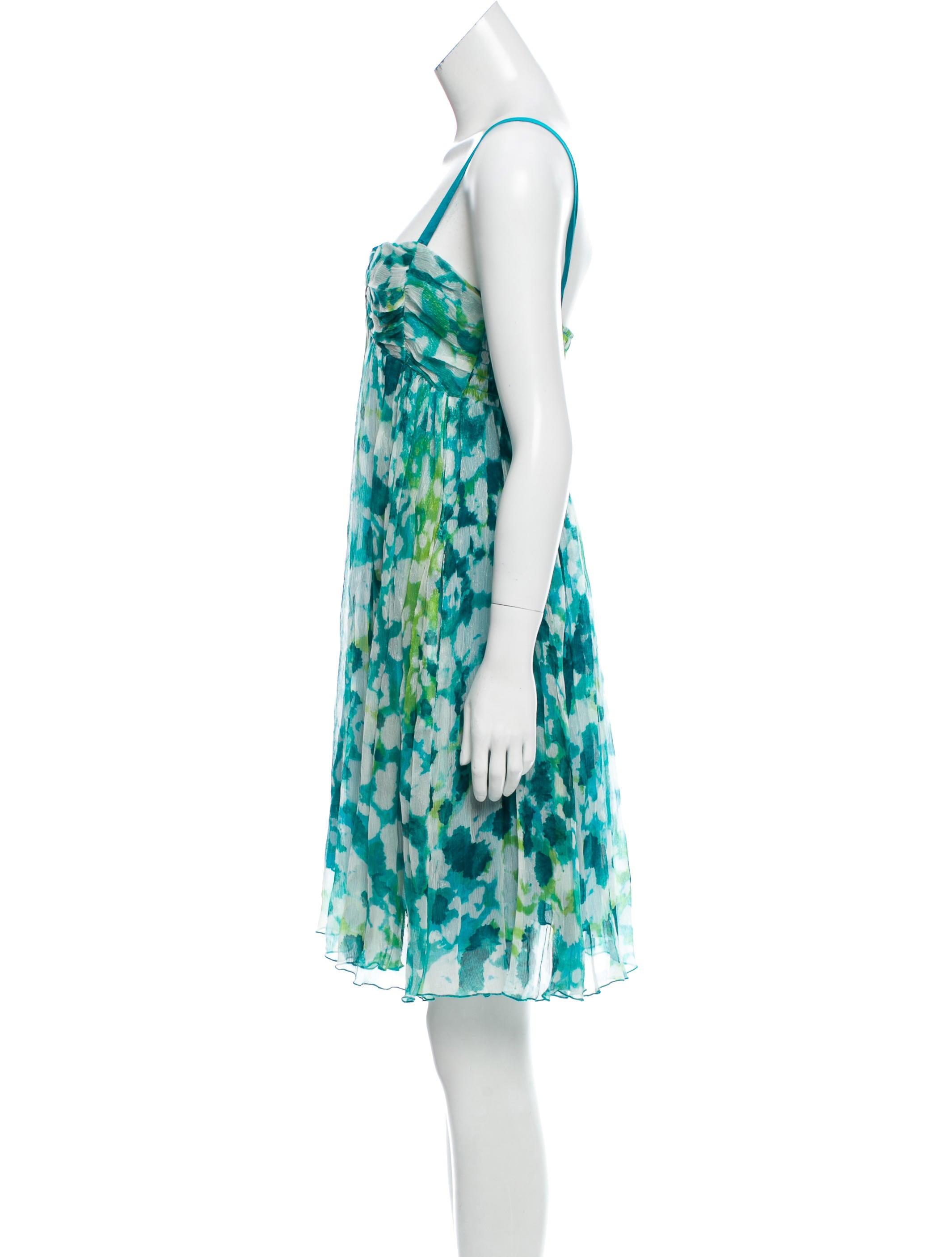 Diane von furstenberg pomdor silk dress clothing for Diane von furstenberg clothing