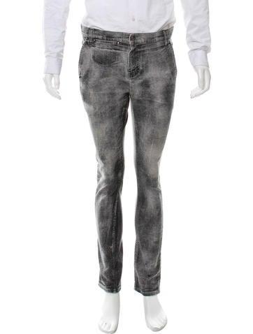 Diet Butcher Slim Skin Cropped Night Stroller Jeans None