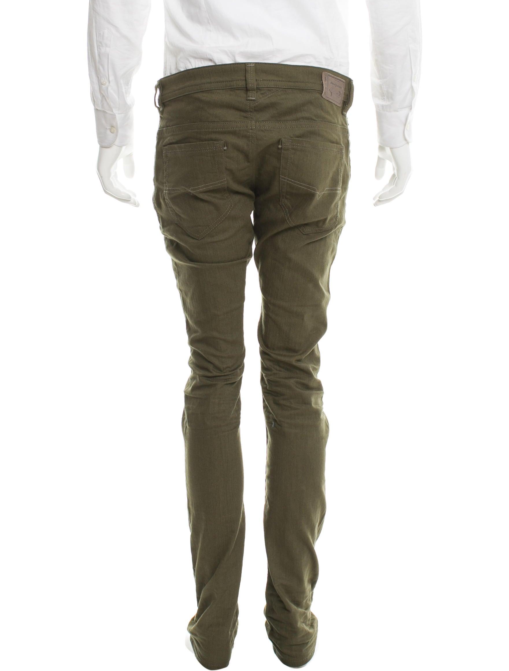 diesel thavar skinny jeans clothing wdisl20054 the