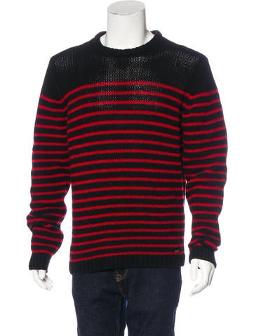 Diesel Striped Wool Sweater w/ Tags None