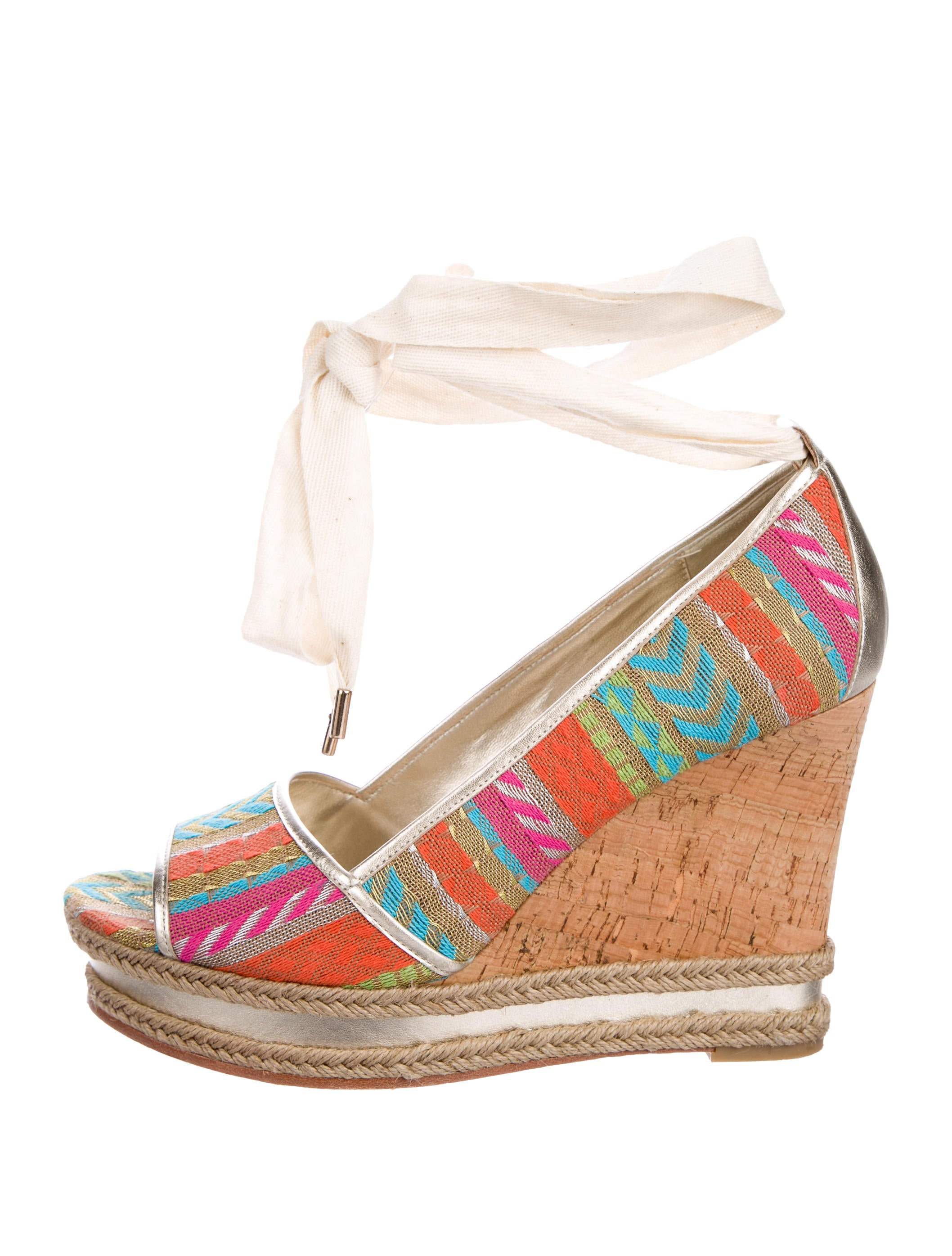 Donald J Pliner Naomi Wedge Sandals looking for cheap online 2beEHjlnR6