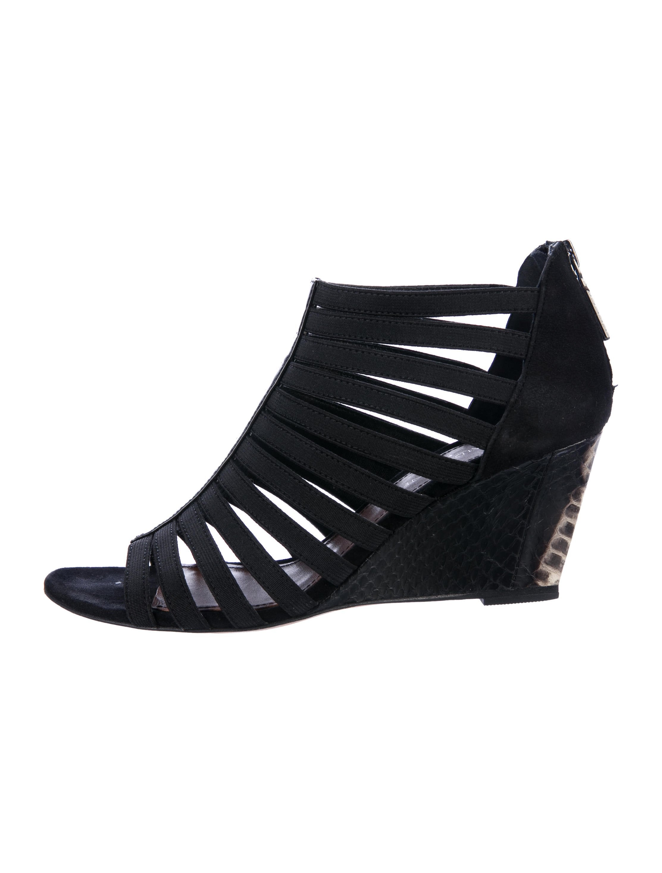looking for shop for sale Donald J Pliner Multistrap Wedge Sandals ifQBXUOCWc
