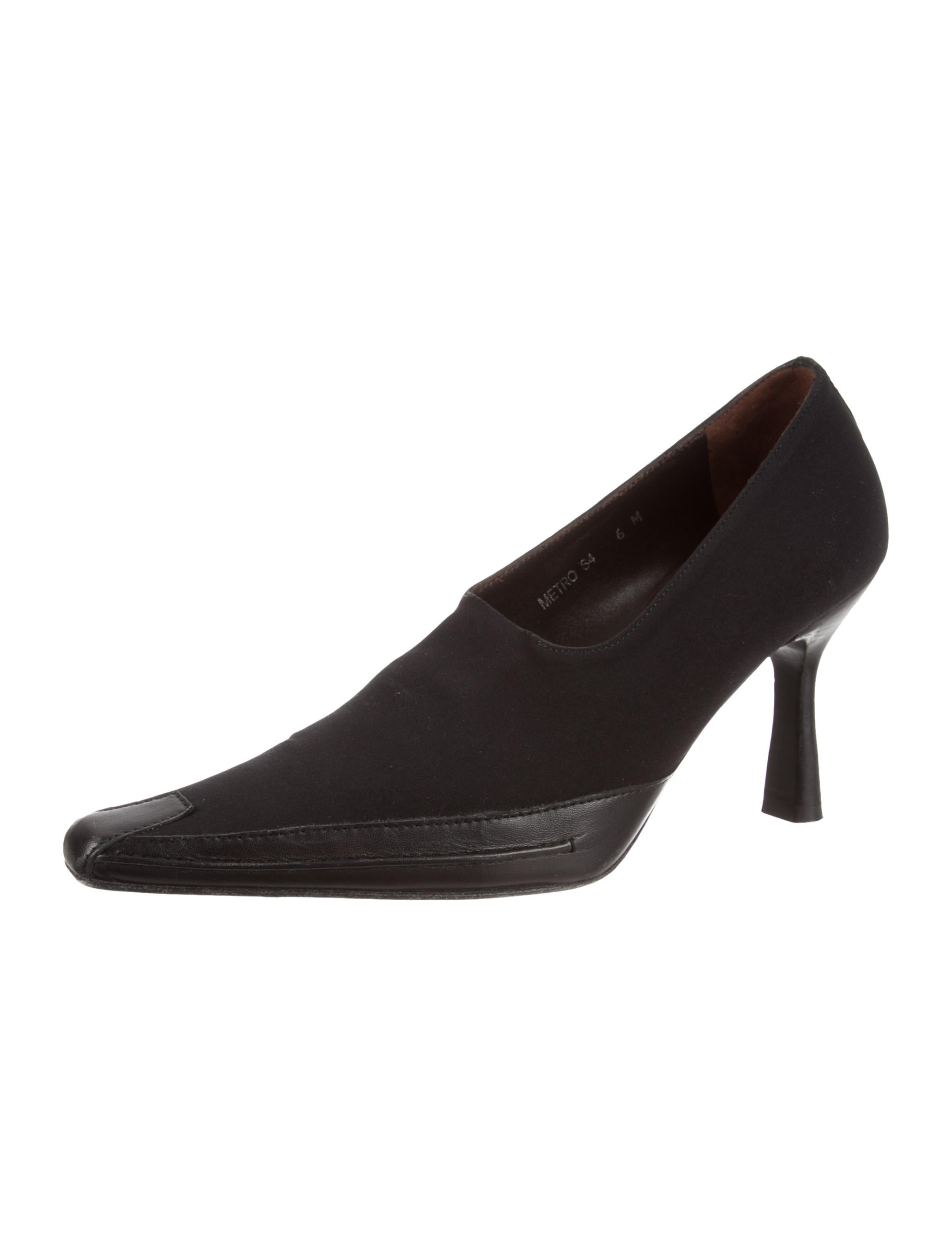 extremely cheap price low price for sale Donald J Pliner Woven Square-Toe Pumps cheap 100% guaranteed lrLfuF8e