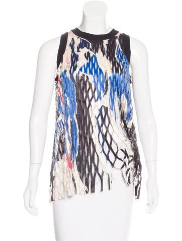 DKNY Cutout Sleeveless Top w/ Tags None