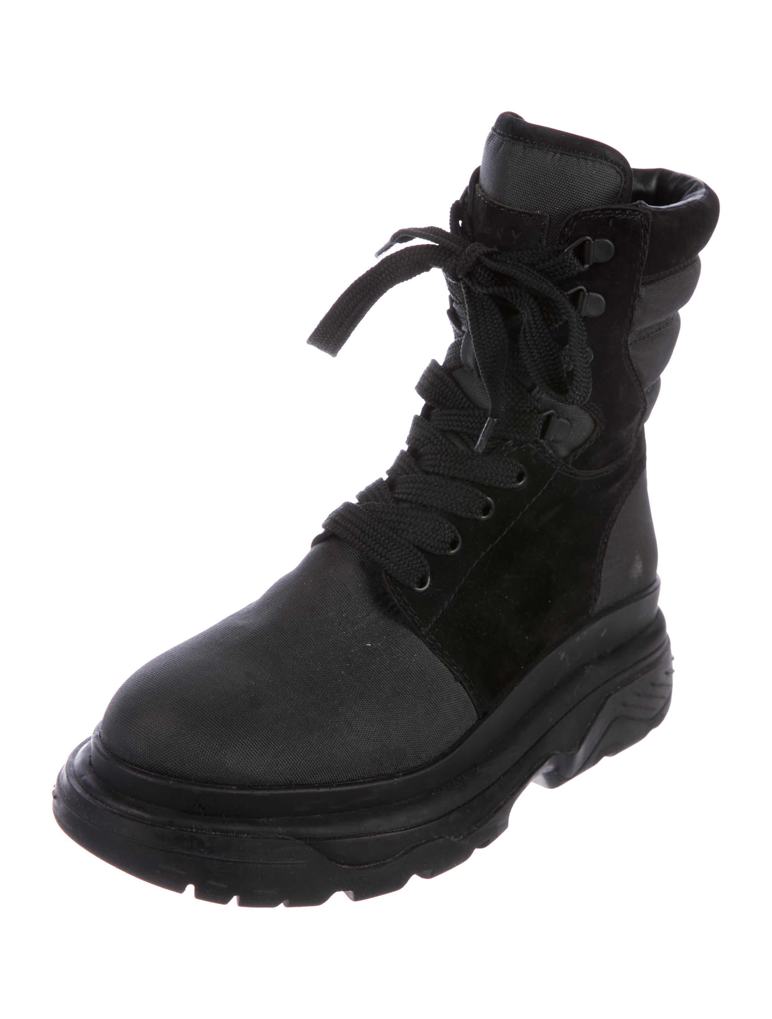 best wholesale sale online really cheap DKNY Mesh Combat Boots free shipping sneakernews view sale online Ql5wrMrrz3