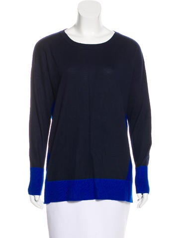 DKNY Colorblock Knit Sweater None