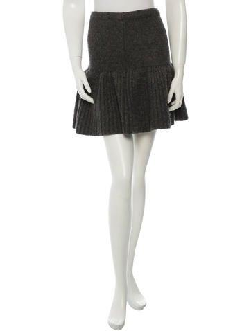 Derek Lam 10 Crosby Knitted Flared Skirt None