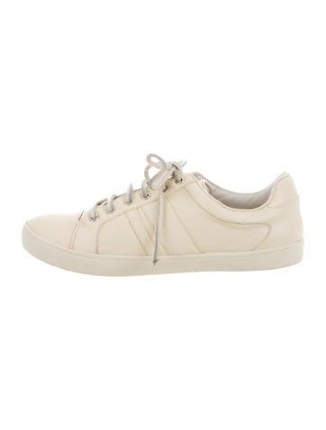 Derek Lam 10 Crosby Leather Low-Top Sneakers